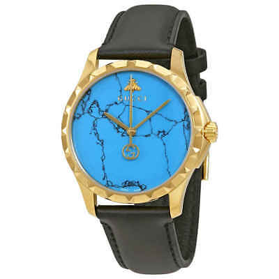 ebf2a2d6422 GUCCI G-TIMELESS TURQUOISE Blue Dial Men s Watch YA126462 -  669.99 ...