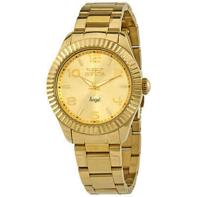 Invicta Angel Gold Dial Yellow Gold-plated Ladies Watch 27460