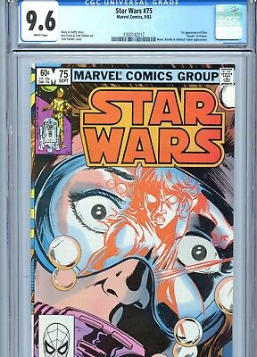 Star Wars #75 CGC 9.6 White Pages 1st Kiro Marvel Comics 1983