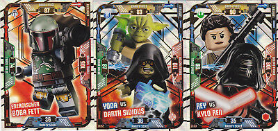 LEGO Star Wars Trading Card Game - 3 x Limitierte Auflage LE17 + LE22 + LE23