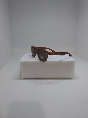 Tito's Vodka Sunglasses Faux Wood UV Protection Unisex *new*