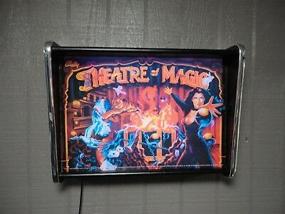 Bally Theatre of Magic Pinball Head LED Display light box