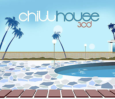 CD Chill House D'Artistes Divers 3CDs