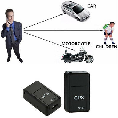 Magnetic Spy Car Vehicle Vehicle GPS Tracker For Elder Real Time Track Locator W
