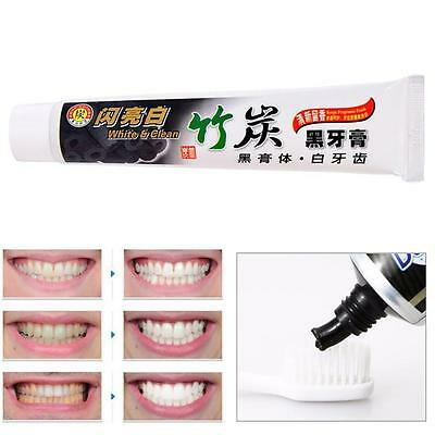 Ecologic Bamboo Charcoal Black Whitening Toothpaste Whitener Tooth Paste 100g EL