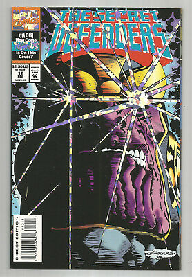 Secret Defenders # 12 * Thanos * Prismatic Foil Cover