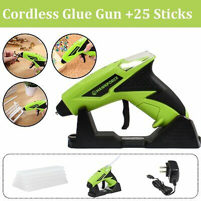 Rechargeable Cordless Hot Glue Gun Sticks Melt Electric Heating DIY Glue Sticks
