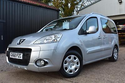 2010(60) Peugeot Partner 1.6HDi 75 Tepee S Wheelchair Accessible Vehicle
