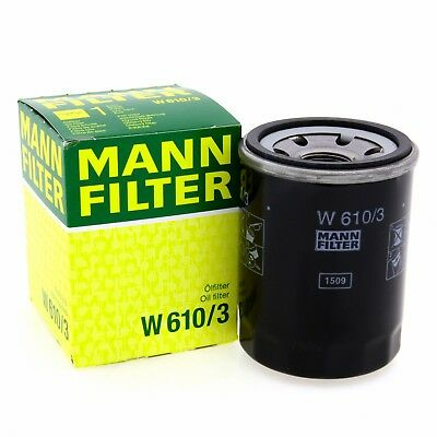 MANN Ölfilter W6103 Filter Alfa Romeo Brilliance Citroen DEUTZ-FAHR Fiat Ford