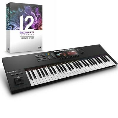 Native Instruments Kontrol S61 MK2 USB MIDI Keyboard & Komplete 12 Ultimate UPG