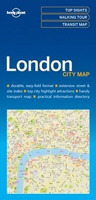 LONDON CITY MAP by LONELY PLANET 9781786574138