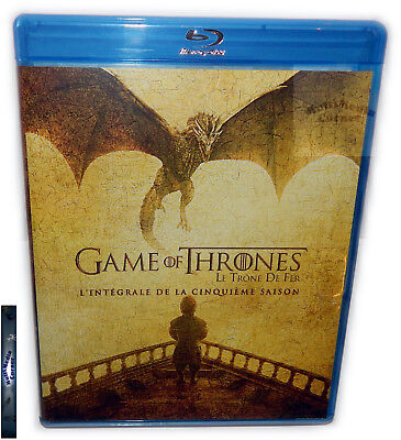 Game of Thrones - Die komplette Staffel/Season 5 [Blu-Ray] Deutsch(er) Ton