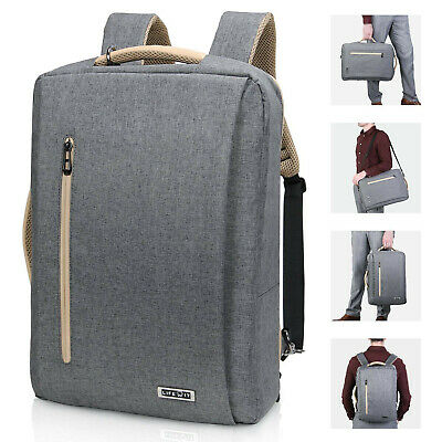 "15.6"" Men Laptop Backpack Travel Business Messenger Bag School Bookbag"