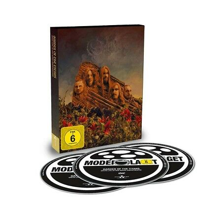 Opeth Garden of the Titans Live at Red Rocks DVD + 2 CD Set (UK) New 2018