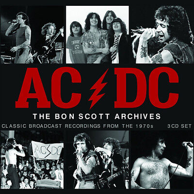 AC/DC : The Bon Scott Archives: Classic Broadcast Recordings from the 1970s CD