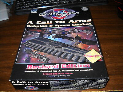 Babylon 5: A Call to Arms: Revised Edition Box Set: Unpunched