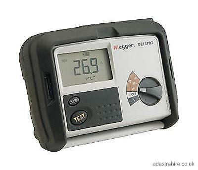 Megger DET4TD2 4 Terminal Earth Ground Resistance Tester