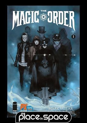 The Magic Order #1F - Sdcc San Diego Exclusive Variant (Netflix) (Wk24)