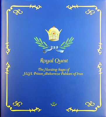 Quimby Big Game Book Royal Quest The Hunting Saga Of Prince Abdorreza Wild Sheep