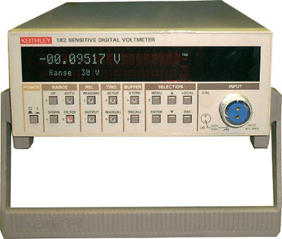 Keithley 182 Sensitive Digital Voltmeter