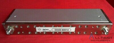 HP - Agilent - Keysight 33322-60014 Programmable Step Attenuator, DC-4 GHz