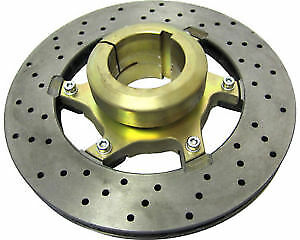 Tony Kart Brake Disc Carrier Complete With 206 x 16mm Disc & Bolts Genuine Part