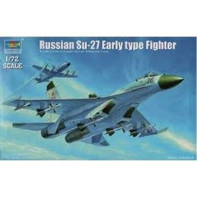 Trumpeter 01661: 1:72 Sukoi Su-27 Flanker early Type, Russian Air Force