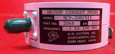 AH Systems BCP-200/511 HF/VHF Current Probe