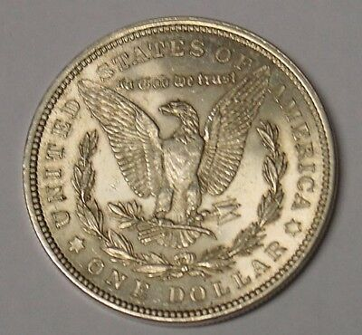 USA. 1921 Plain Morgan silver dollar. Near UNC.