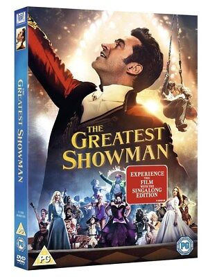 The Greatest Showman [DVD w/ Singalong Edition] 2017 *NEW*
