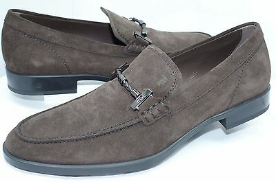 a6e6590a027 NEW TOD S MENS Brown Shoes Loafers Drivers Size 10 Suede Slip Ons ...
