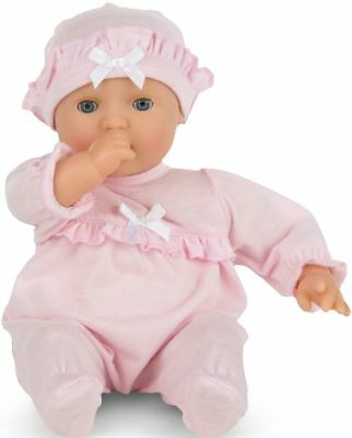 """Melissa & Doug Jenna 12"""" Baby Doll Mine To Love Toy With Pacifier Kids BN"""