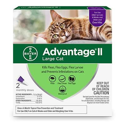 Bayer Advantage II Flea Prevention for Cats - FREE and FAST Shipping(2 days)