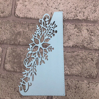 Wedding Tie Flower Wave Edge Metal Cutting Stencils for DIY Album Scrapbooking