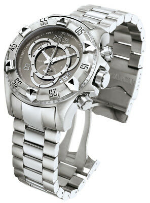Invicta Excursion Chronograph Grey Dial Stainless Steel Men's Watch 5524