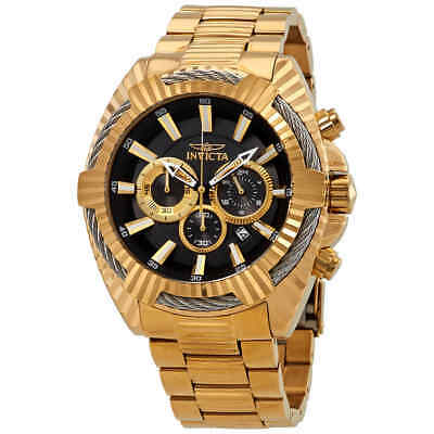 Invicta Bolt Chronograph Black Dial Men's Watch 27192