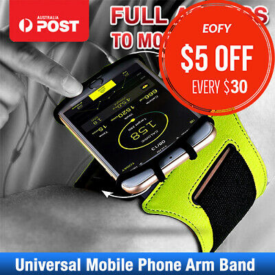 Rotating Sports Gym Running Armband for Apple iPhone XS Max XR X 7 Plus Arm Band