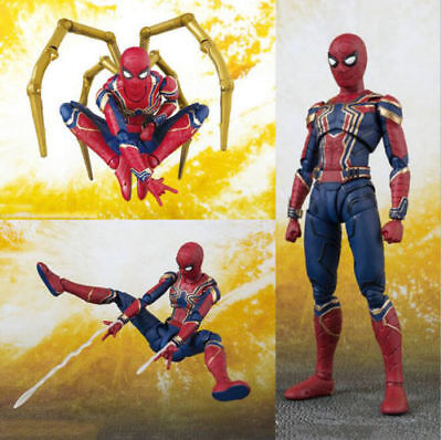 Marvel Avengers Infinity War Iron Spiderman Spider-Man Action Figure Toy Model