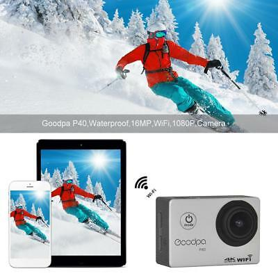 Ultra 4K Sport Action Camera Full HD 1080P Waterproof WIFI Action Camcorder 16MP