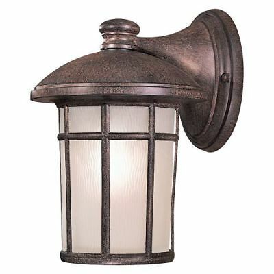 "The Great Outdoors 8252-61-PL 1-Light 12.75"" Height Fluorescent Outdoor Sconce,"