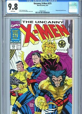 Uncanny X-Men #275 CGC 9.8 White Pages *Direct Edition* Marvel Comics 1991