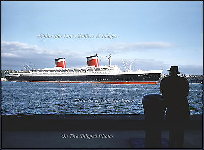 Photo: The SS United States & It's Designer: William Francis Gibbs - NY, 1952