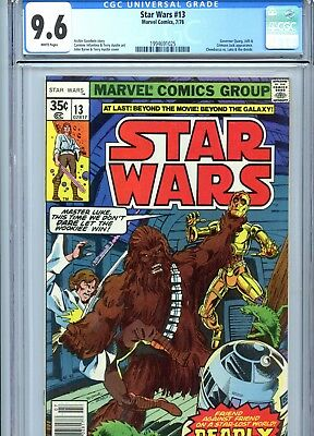 Star Wars #13 CGC 9.6 White Pages Marvel Comics 1978