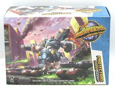 Monsterpocalypse PIP51001 Protectors Starter Pack (G.U.A.R.D.) Privateer Press