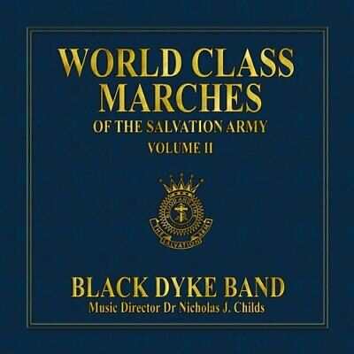Black Dyke Band - World Class Marches of The Salvat... - Black Dyke Band CD CQVG