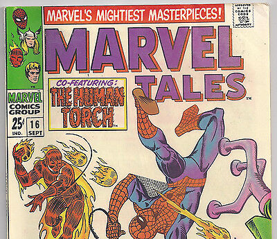 The Amazing Spider-Man #21 Reprint in Marvel Tales #16 from Sept. 1968 in F/VF