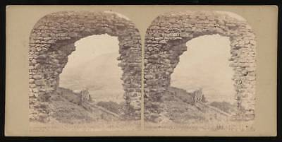 565882) Stereobild Ruines arch and Castle Savoy