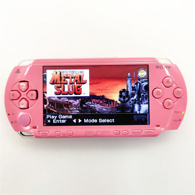 Refurbished Sony PSP-1000 Pink Handheld System PSP 1000 Game Console