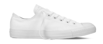 Converse Chucks Taylor All Star Ox Low Sneaker Schuhe 1U647 (White Mono)