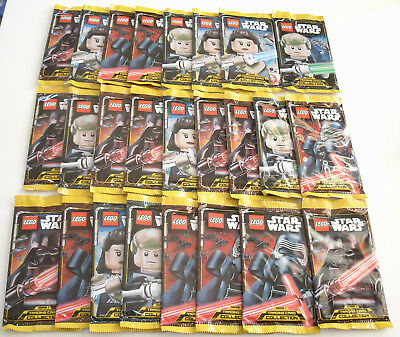 LEGO Star Wars Serie 1 Trading Card Game - 25 Booster Neu & OVP